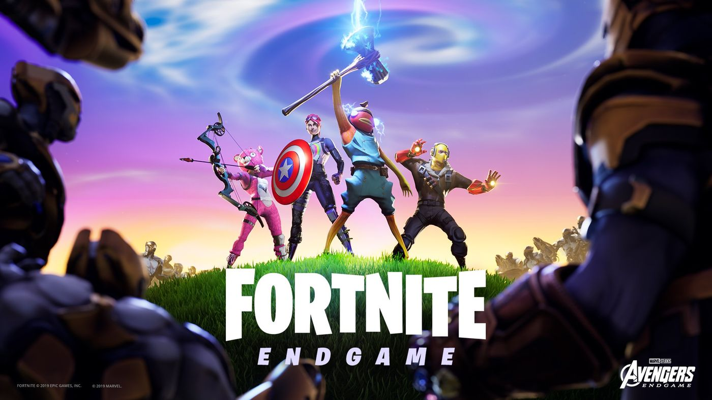 Fortnite Avengers Endgame